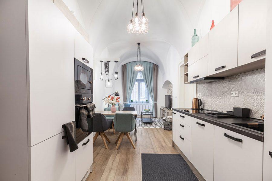byt v 140-ročnom dome