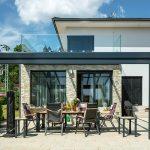 rodinný dom z tehly - terasa