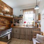 neded návšteva vidiek vintage tehla v kuchyni