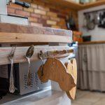 neded navšteva kuchyňa lyžica