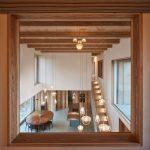 ORA Svitavy tehlový dom interiér